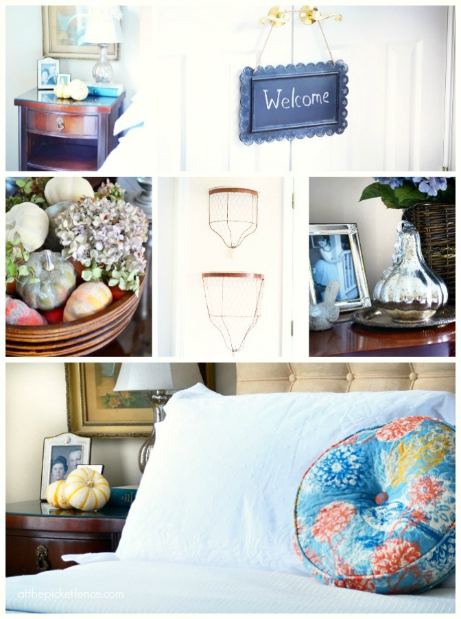 fall ideas for the guest room