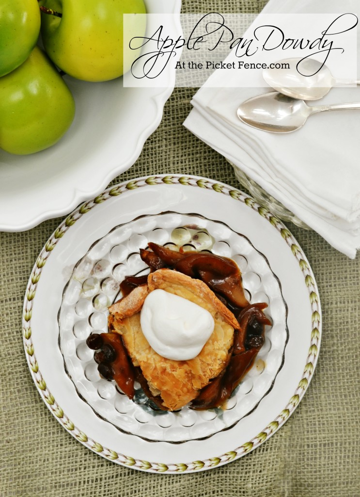 Apple-pan-dowdy-dessert from At the Picket Fence