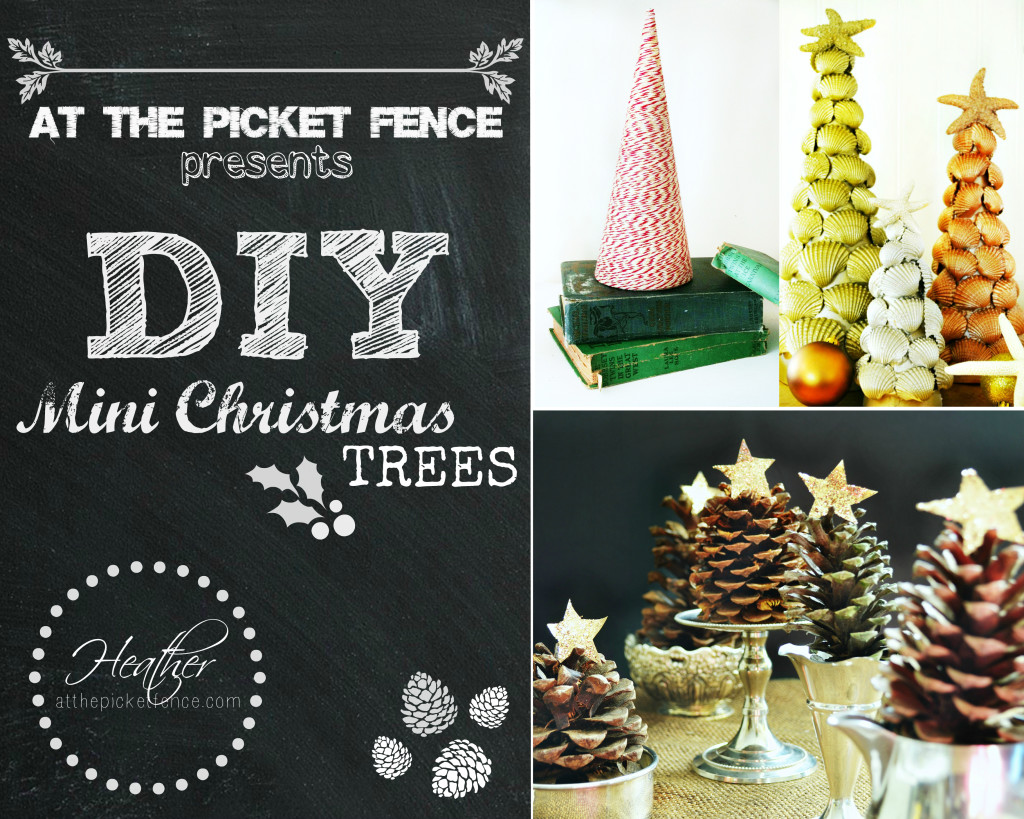 DIY Mini Christmas Tree Ideas