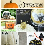Five unique pumpkin ideas from www.atthepicketfence.com