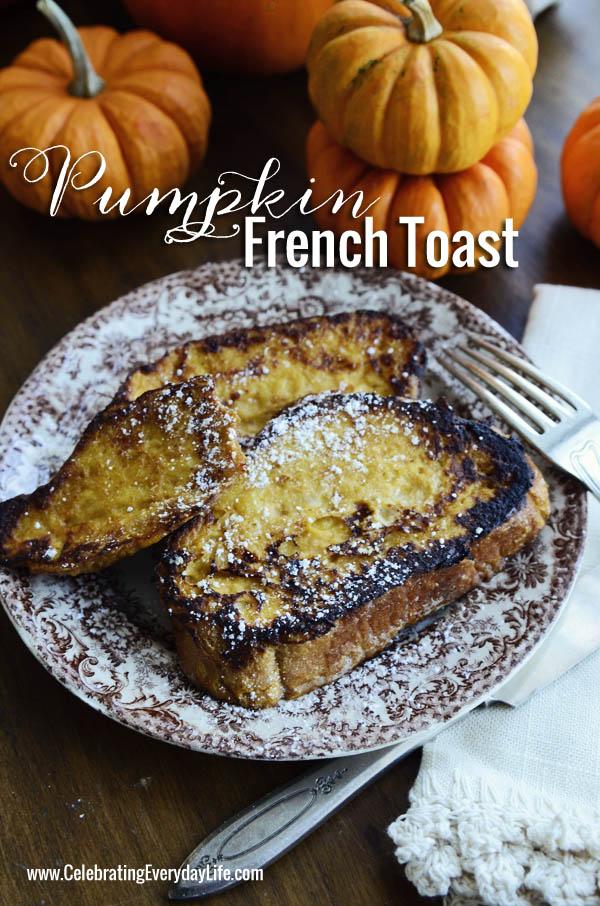 PumpkinFrenchToast