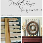 how to make a picket fence graphic