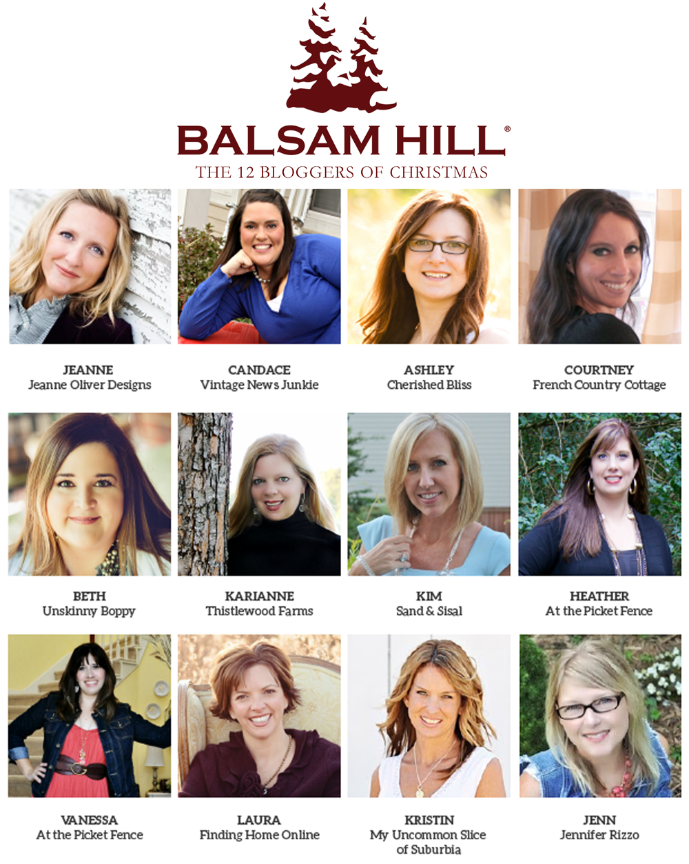 Balsam Hill 12 Bloggers of Christmas