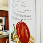 Pumpkin Pie Recipe Wall Art