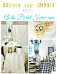 Best of 2013 from At the Picket Fence.com