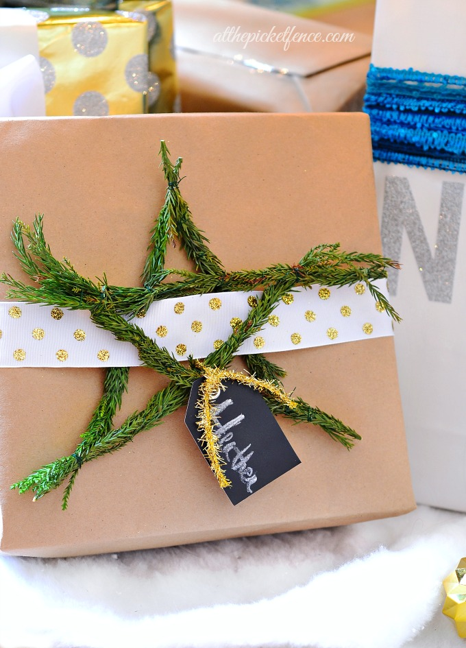 DIY Christmas Gift Wrapping Ideas 3