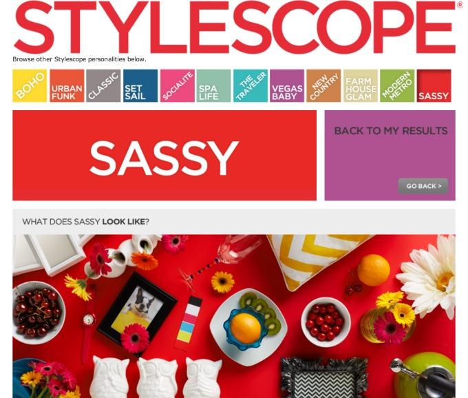 Home Good Stylescope Sassy