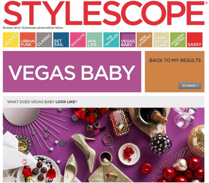 Home Good Stylescope Vegas Baby