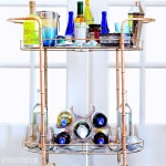 How to style a bar cart for the holidays