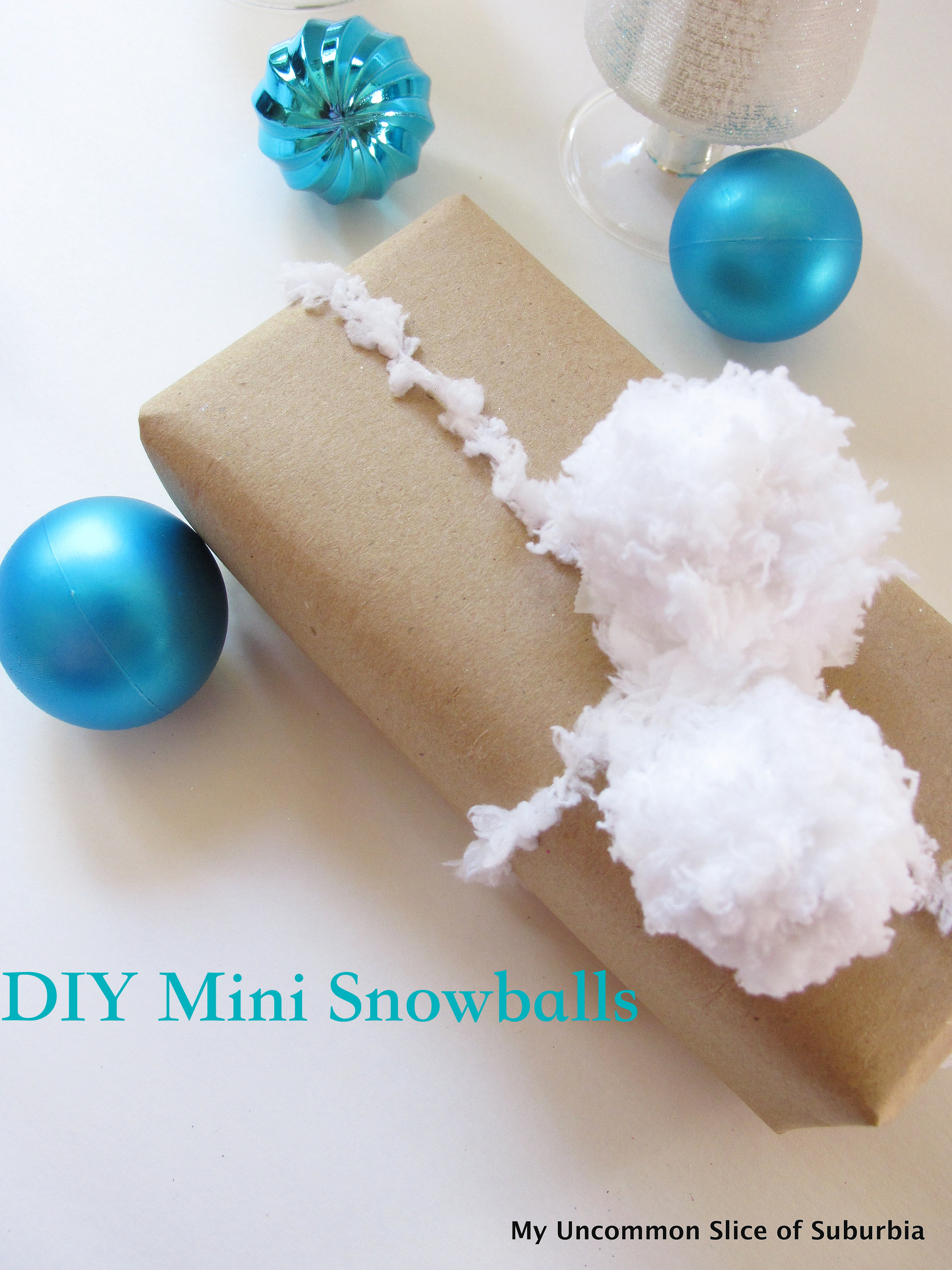 DIY Mini Snowballs