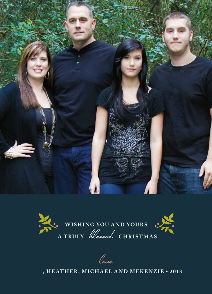Minted Christmas Card 2013