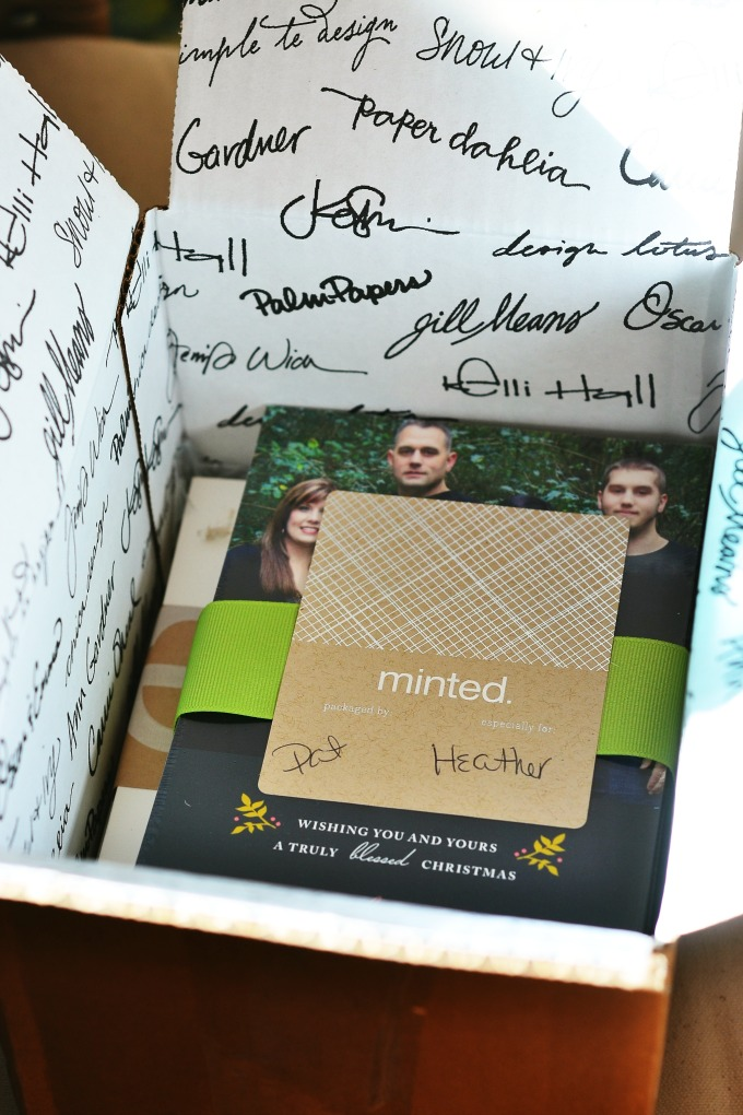 Minted Christmas Card Giveaway 2013 5