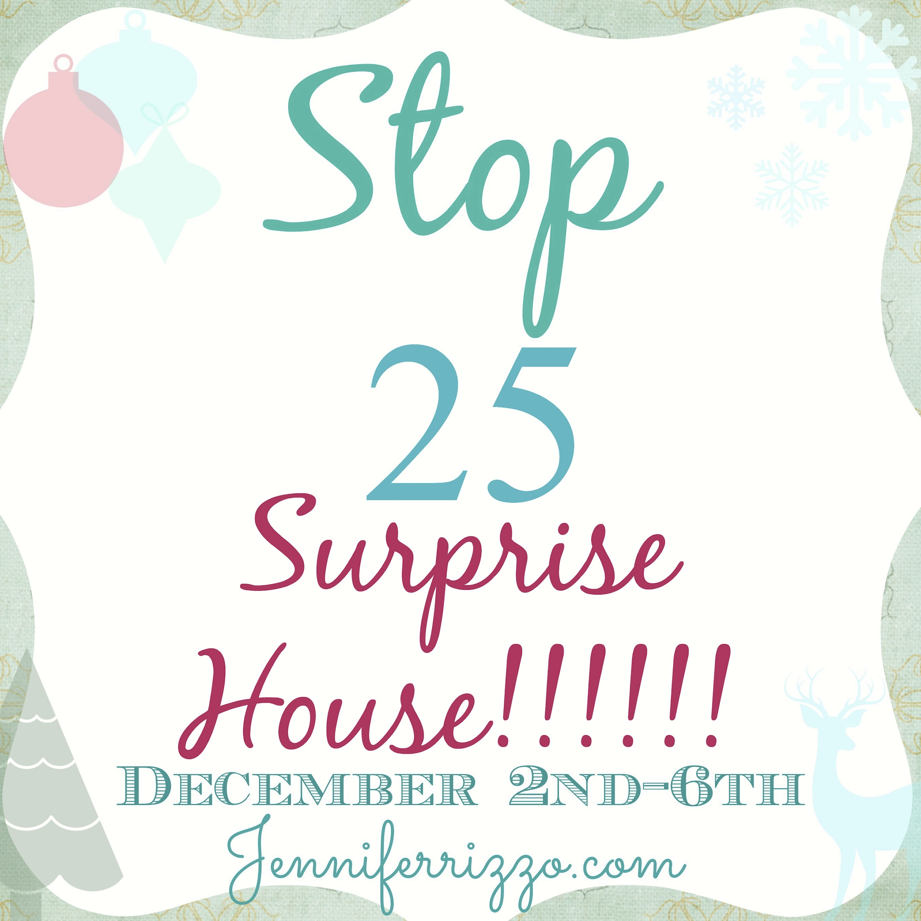 Surprise house 25
