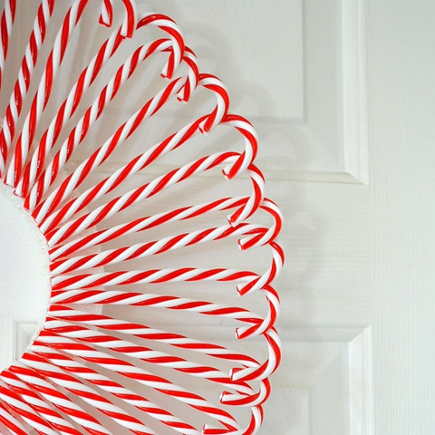 candy cane wreath2
