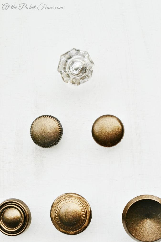 crystal knob as the star