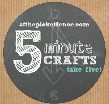 5 minute craft graphic