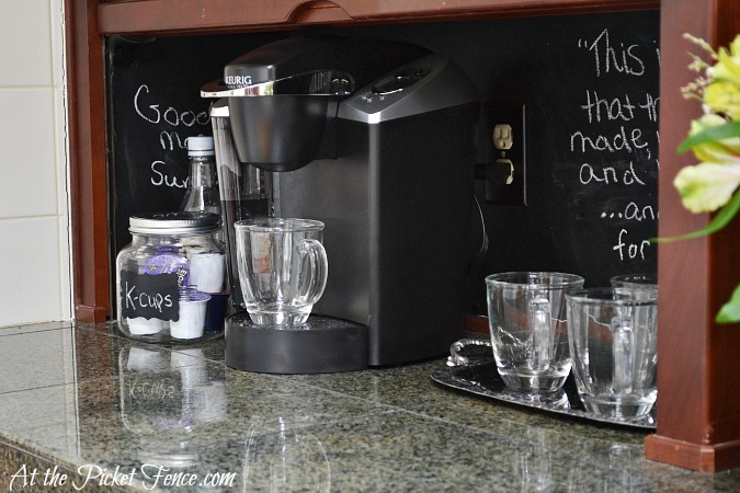 Appliance-garage-coffee-station from atthepicketfence.com