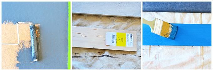 DIY Painted Cork Board Tutorial 2