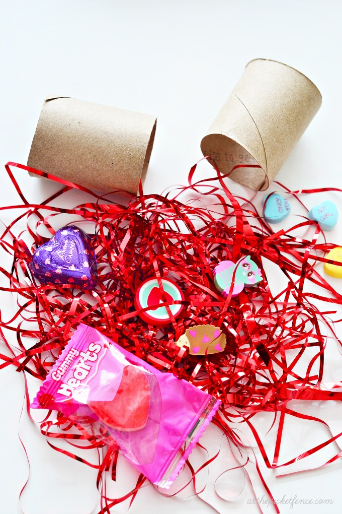 DIY Valentine's Day Poppers filler