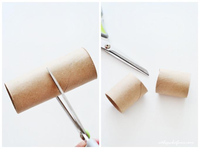 DIY Valentine's Day Poppers step 1