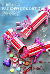 DIY poppers for Valentine's Day