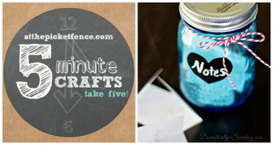 Five Minute Craft Valentine's Day Love Notes Jar
