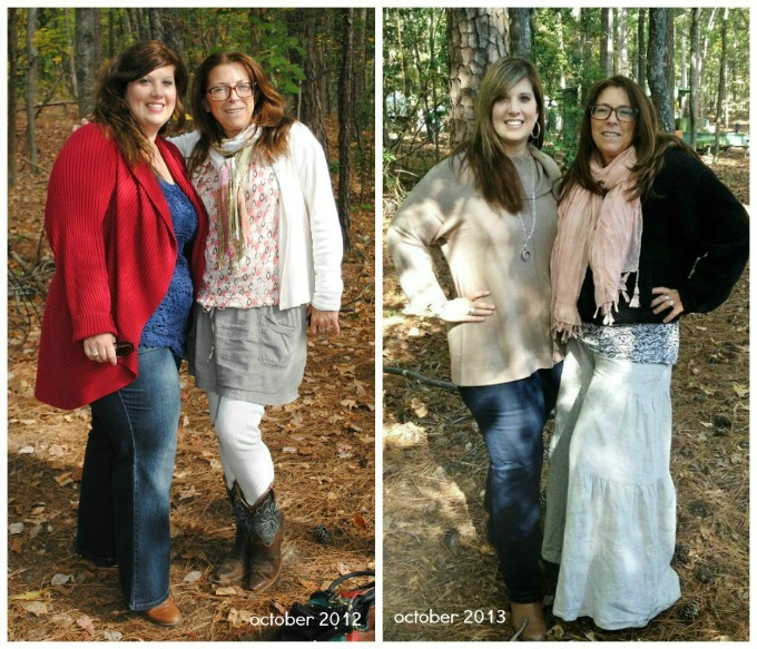 Heather Before and After 65 pounds