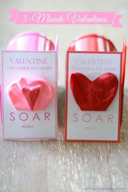Valentine Balloons header