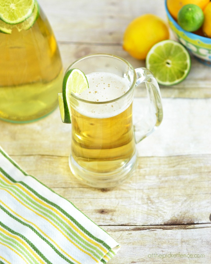 Lemon-Lime Beer Shandy Cocktail
