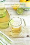 Lemon Lime Beer Shandy Cocktail
