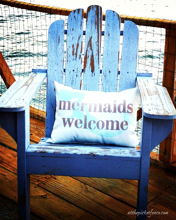 Mermaids Welcome at Tybee Island