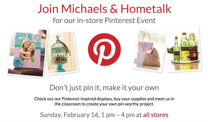 Michaels Pinterest Event