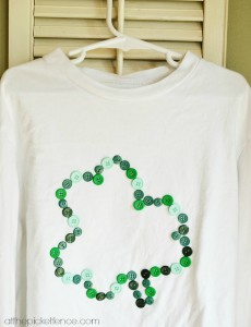 button applique shamrock shirt from atthepicketfence.com