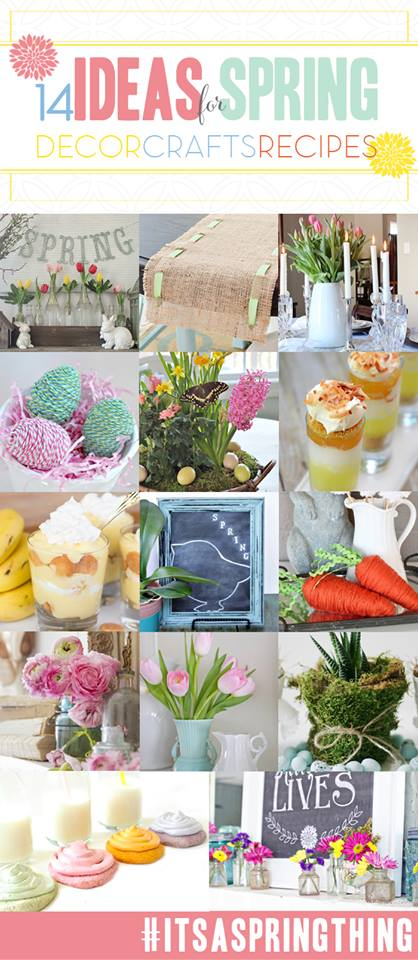 It's a Spring Thing Linky Party and Giveaway!
