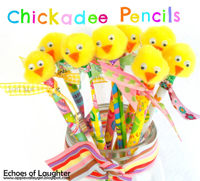 Chickadee Pencils from Echoes of Laughter