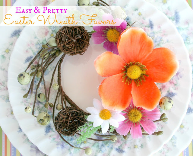 Easter Wreath Favors from Echoes of Laughter