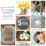 Five Easy Spring Crafts