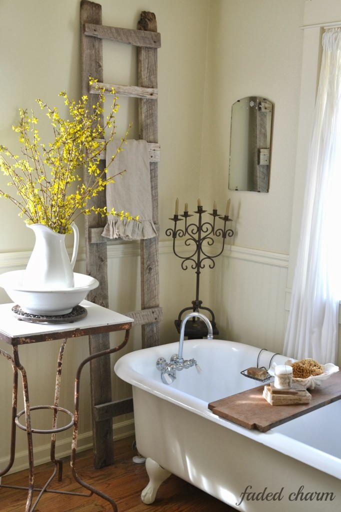 Ten inspiring spring ideas and a winner at the picket fence for Spring bathrooms