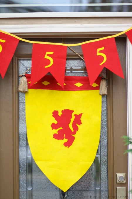 birthday decorations for Chronicles of Narnia party