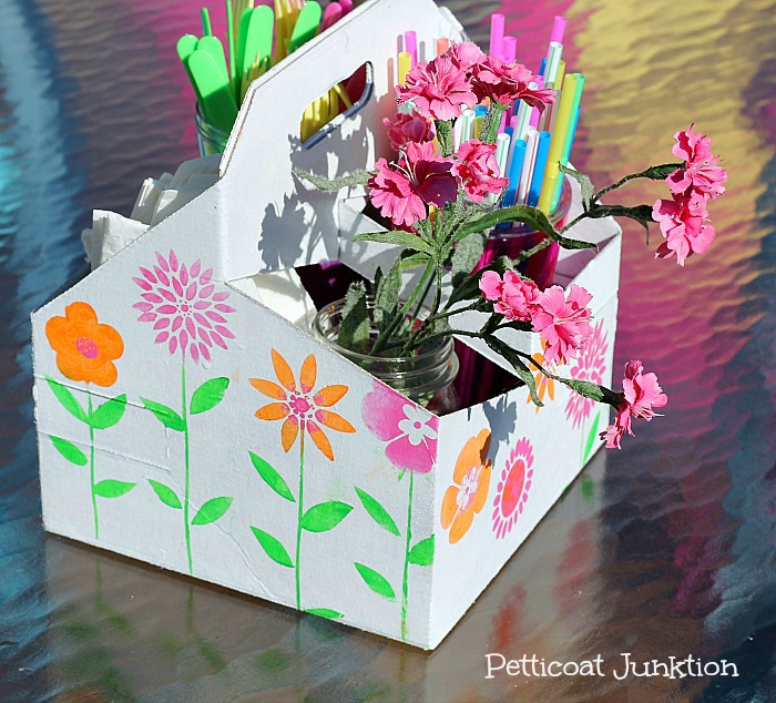 easy picnic caddy craft petticoat junktion