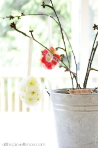 flower easter egg tree