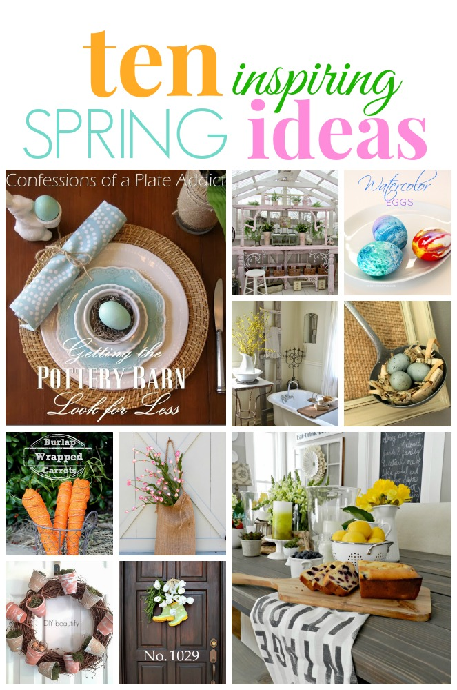 Ten Inspiring Spring Ideas and a winner!