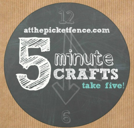 5 minute craft graphic