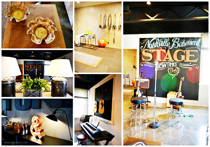 HGTV Smart Home Basement Collage