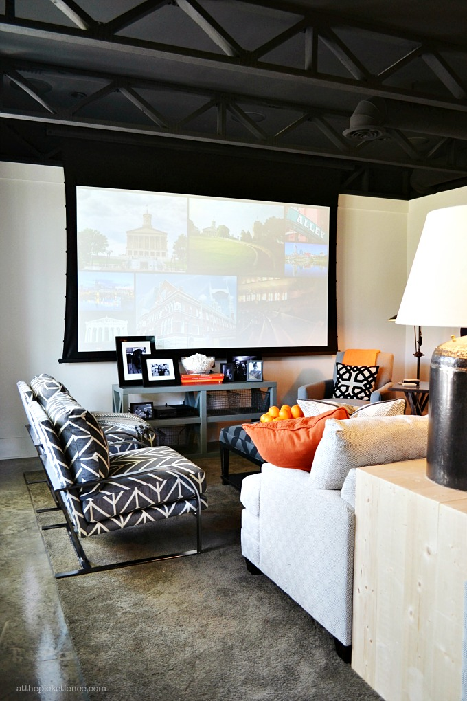 HGTV Smart Home Basement