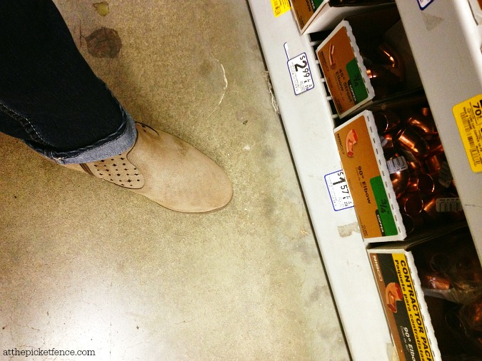 ankle boots at Lowes