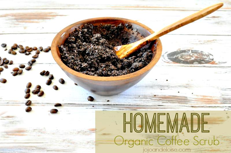 Homemade Organic Coffee Scrub