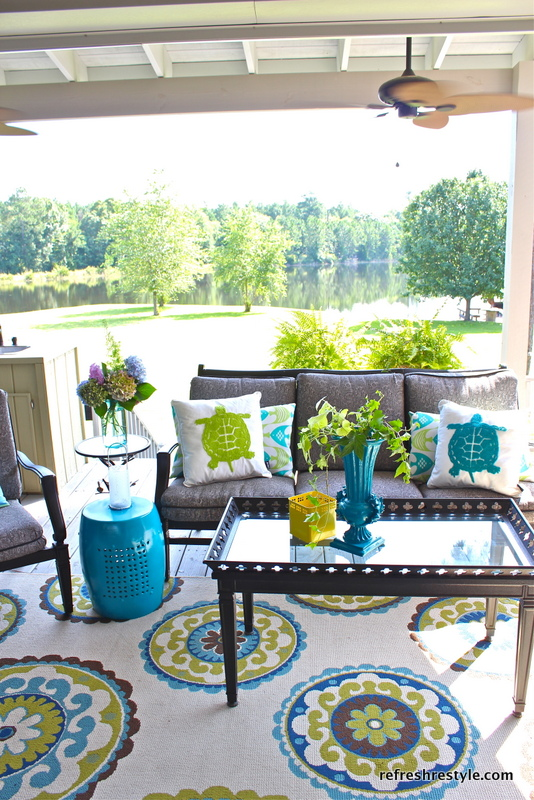 refresh restyle porch