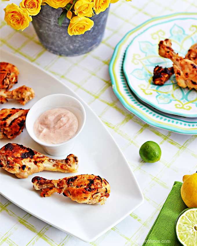 Lemon Lime Marinated Chicken Drumsticks