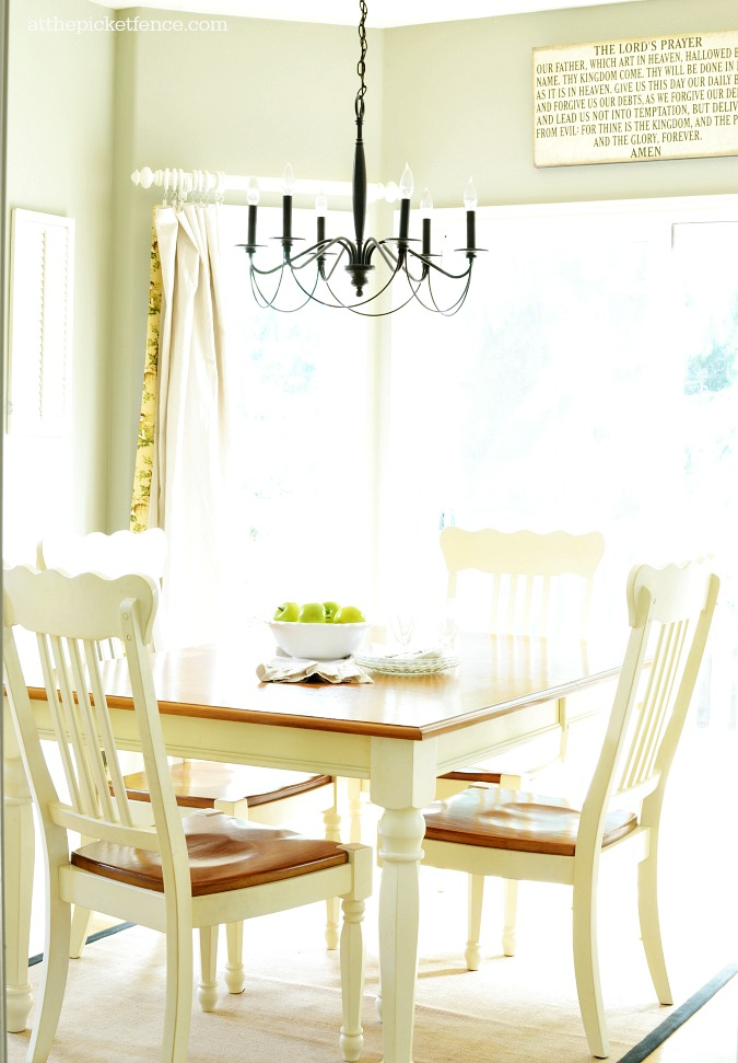 breakfast nook atthepicketfence.com